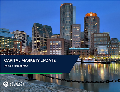Capstone Partners Capital Markets Update Generic